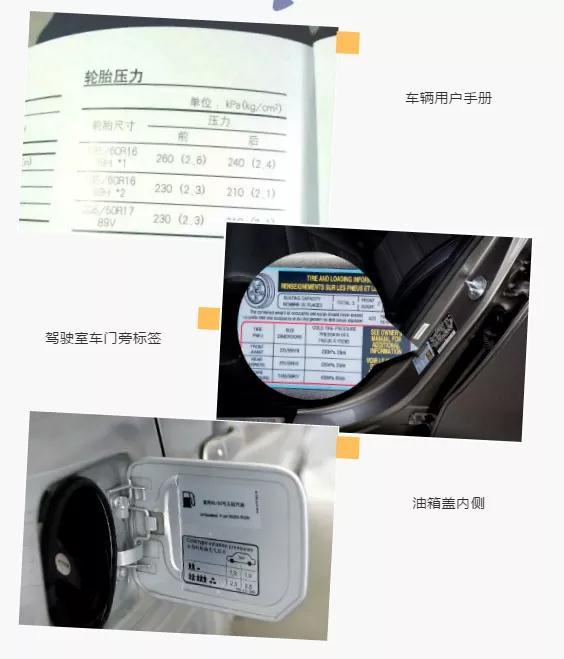汽车胎压多少才正常?那么一般都在哪儿查看呢?