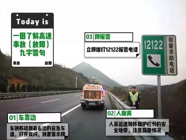 如果在高速上发生交通事故该如何正确处理呢?